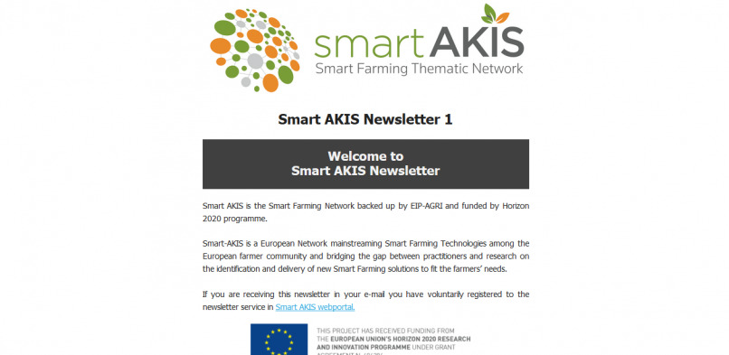 Smart AKIS Newsletter 1 is out!