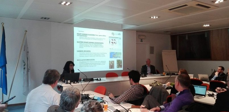 CEMA presents Smart-AKIS at Thematic Networks' workshop on EU Agricultural Innovation
