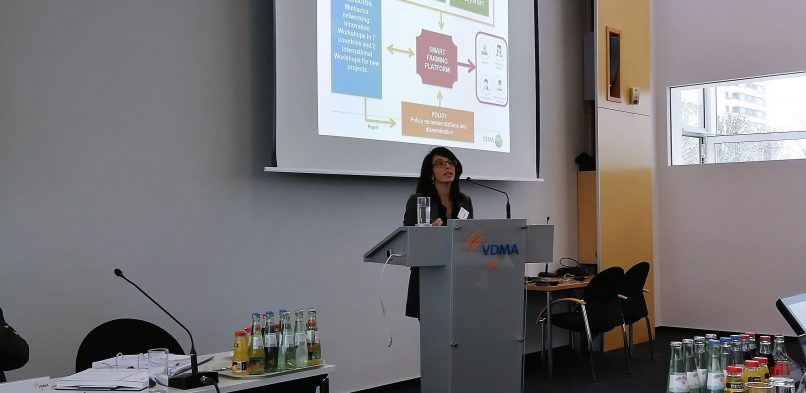 CEMA presents Smart-AKIS to VDMA experts