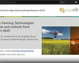 Smart Farming Technologies – Insights & Outlook from Smart AKIS